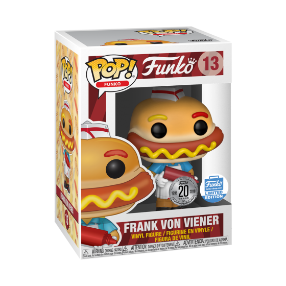 Pop Funko Spastik Plastik Frank Von Viener Funko Shop Funko Pop Vinyl Figures Funko