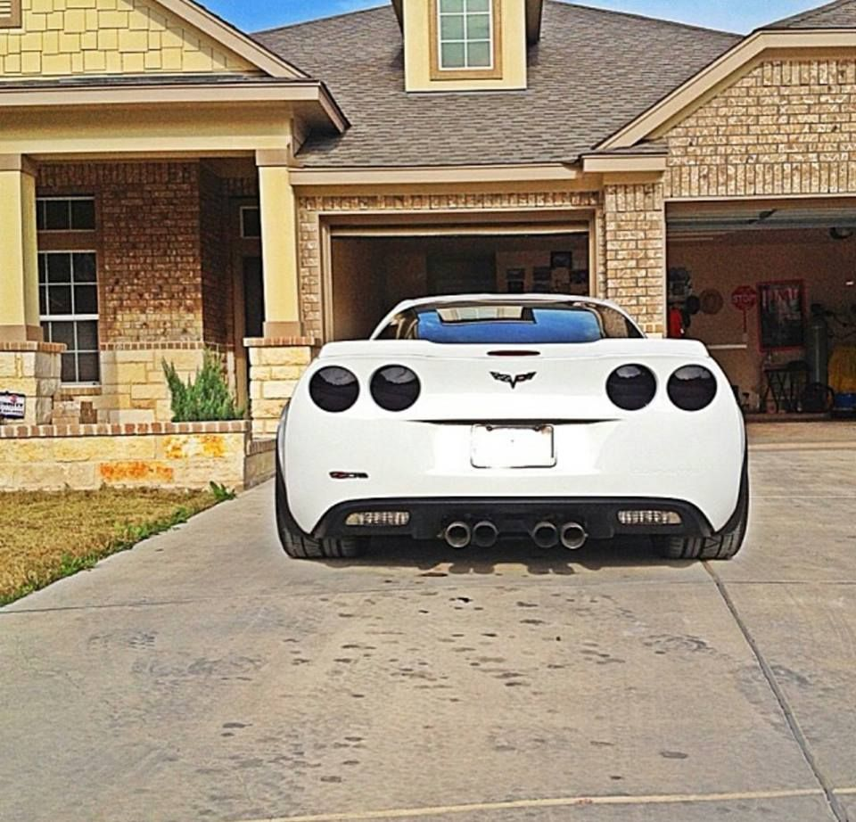 C6 With Taillight Blackouts From Us Www Corvettemods Com Corvette Taillight Blackouts C6 Corvette Chevrolet Corvette Custom Muscle Cars