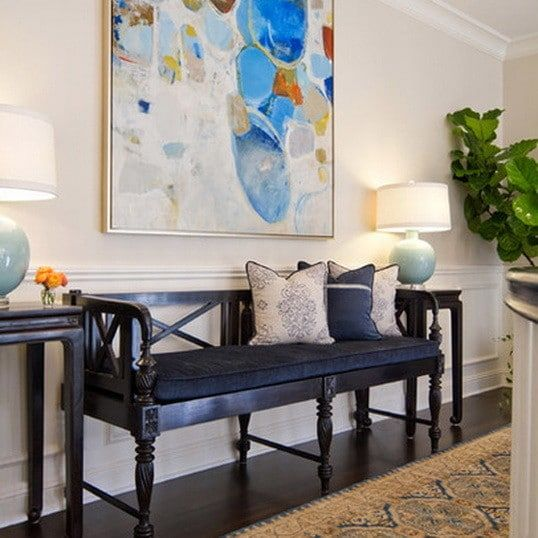 Image Result For Formal Bench Entryway Ideas Decor Colonial