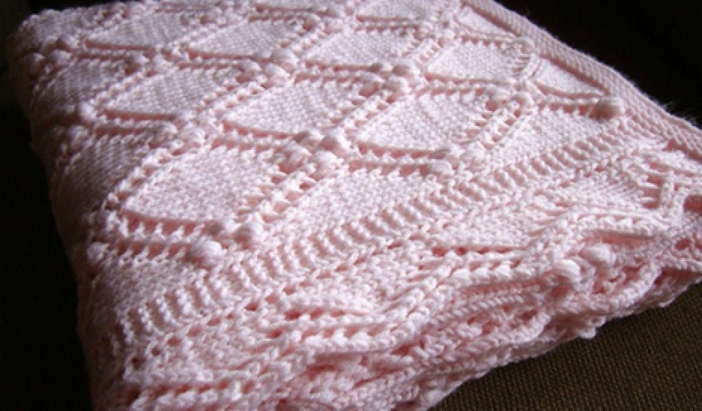 Free Knitting Baby Blanket Pattern Download By Size Handphone