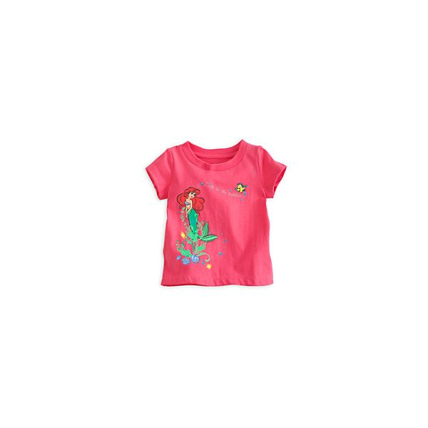 Ariel Tee for Baby ❤ liked on Polyvore featuring baby