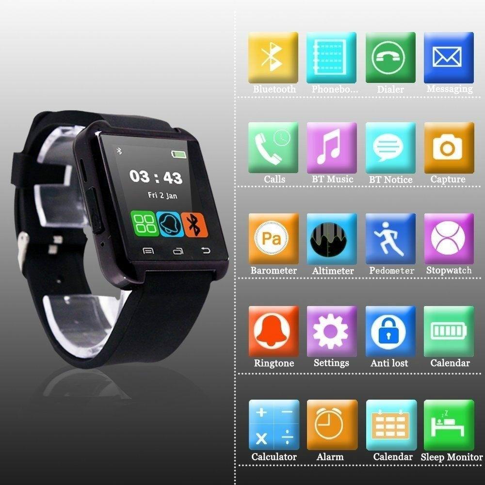 2015 chino barato mejor Bluetooth elegante reloj U8 Sync
