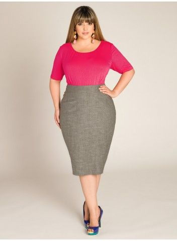 Candace Flirty Pencil Skirt | curves n pencil skirts | Pinterest ...