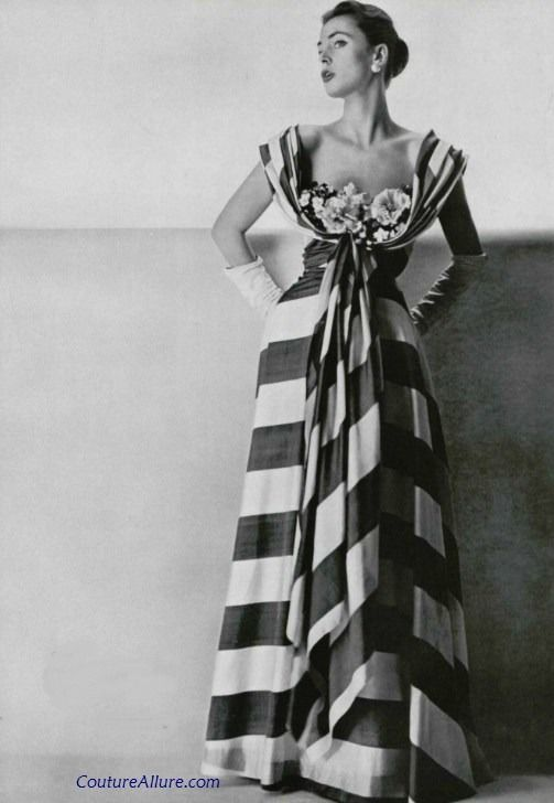 Mme Gres gown, 1953 Couture Allure Vintage Fashion | Guest-Pinner ...