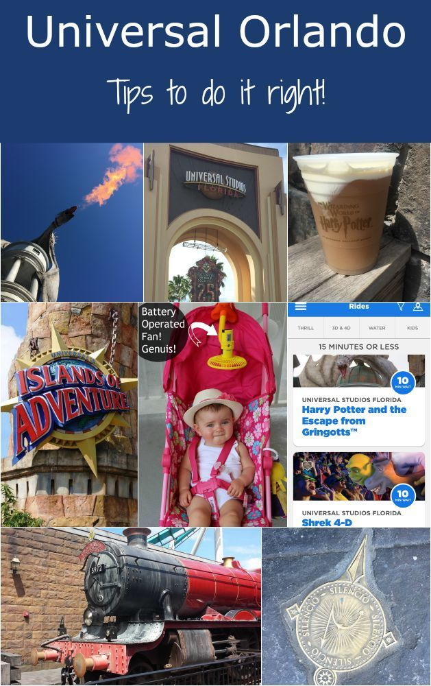Universal Orlando Tips - how to maximize your time, what to bring, what to do!