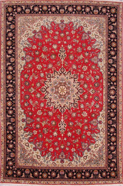 """Tabriz rug 50 223980 Dimensions306 x 200 cm ( 10' 0"""" x 6' 7"""" ) Origin IRAN"""