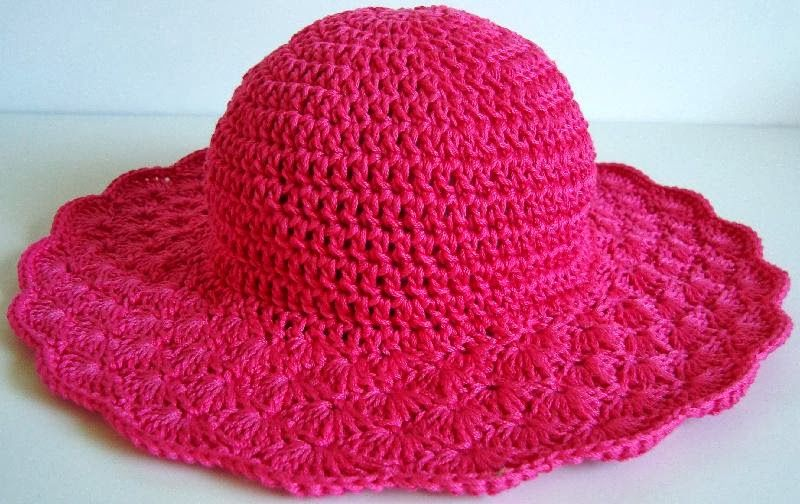 molde chapeu de praia - Pesquisa Google | Chapéu Crochê Adulto ...