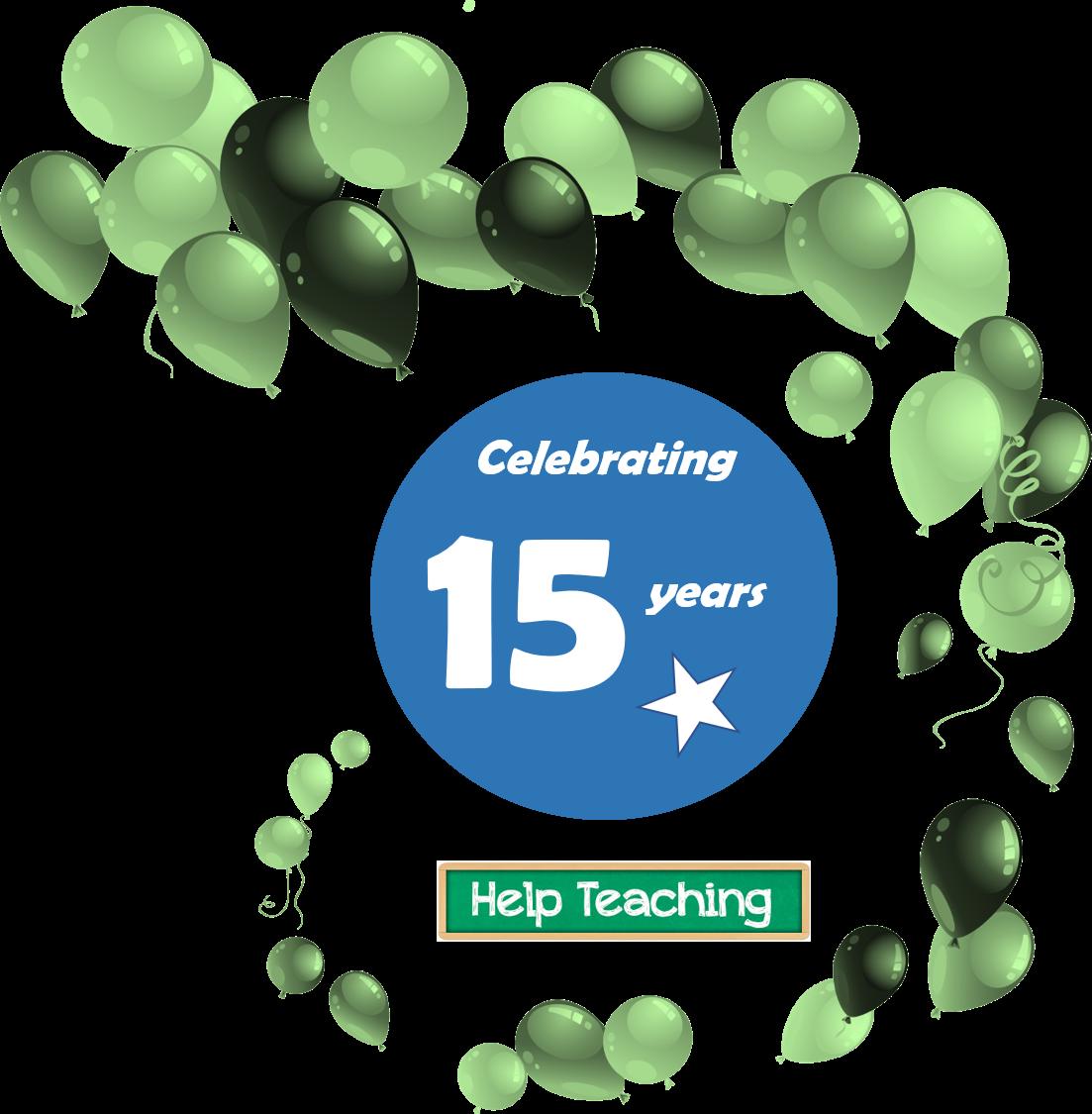 Celebrate Our 15th Anniversary Win A Lifetime Pro