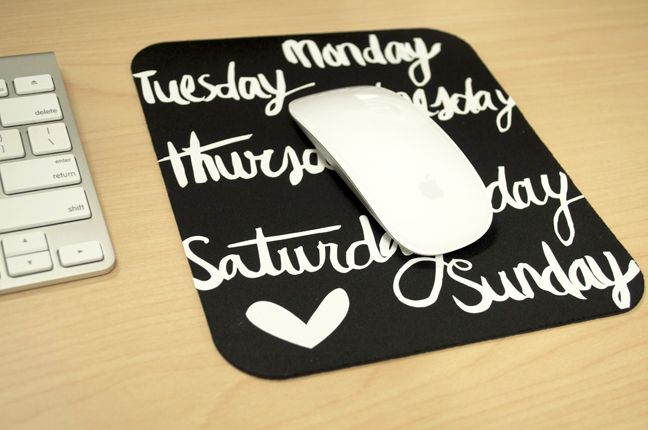 21 Diy Mouse Pad Ideas That You Can Make Easily Vinyl Projects