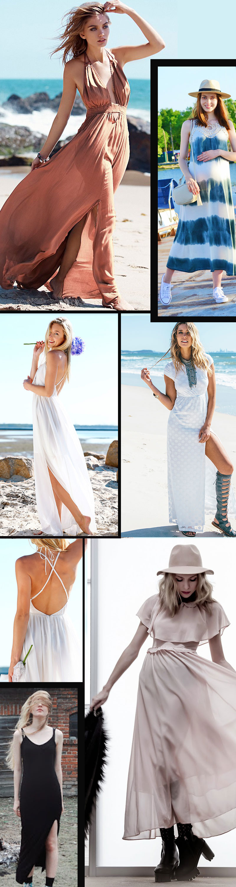 Beach Long Dresses for Your Summer Holiday!