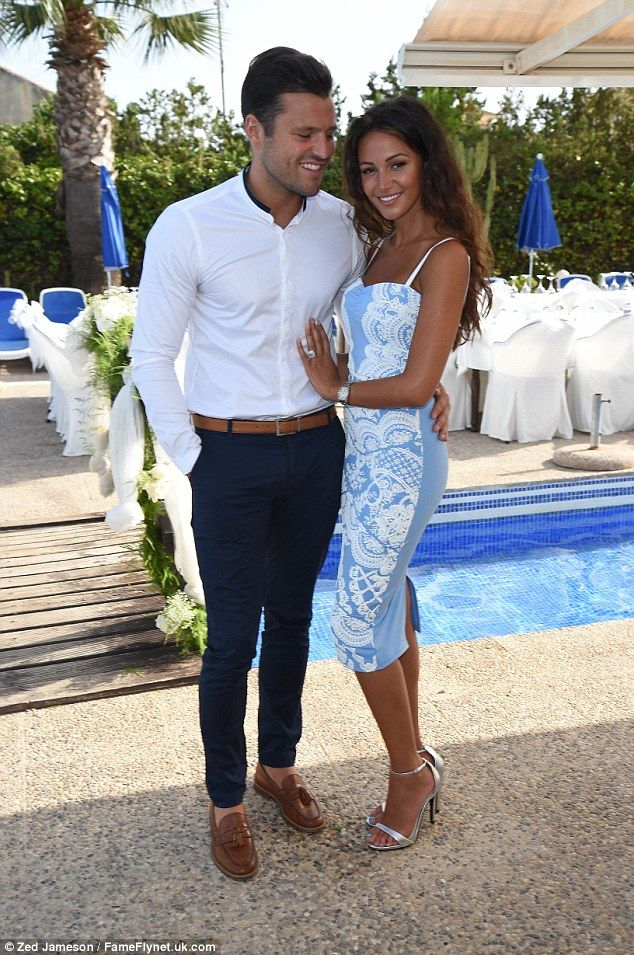 Mark Wright and fiancée Michelle Keegan look more loved-up ...