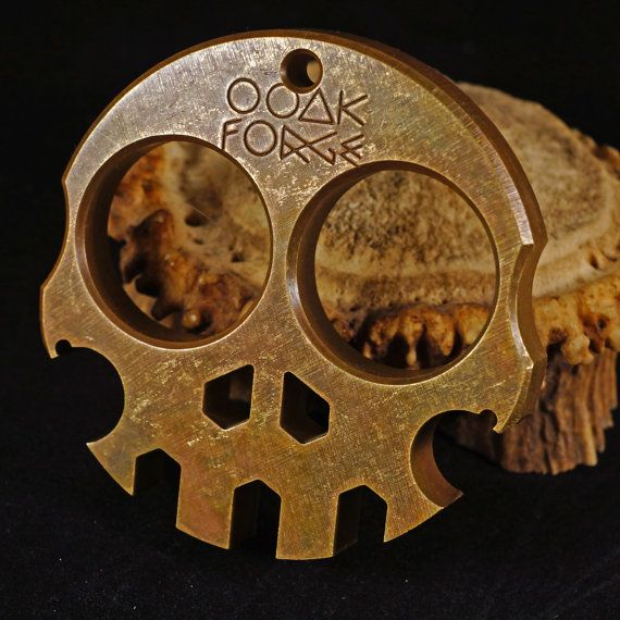 Brass OOAK Forge Multi-Tool by OOAKFORGE on Etsy
