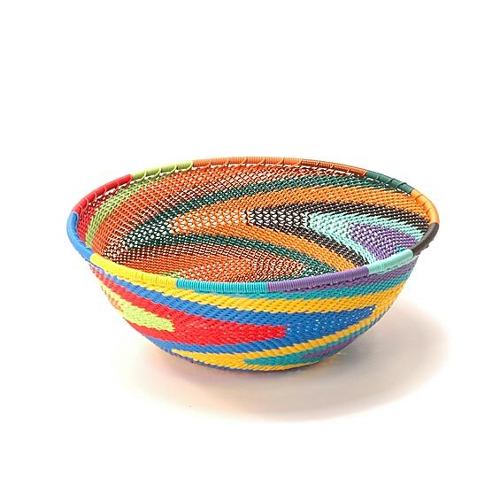 South African Baskets: South Africa - Wire