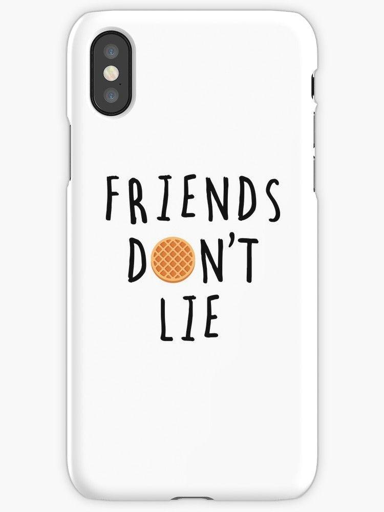 coque iphone 6 friends don't lie