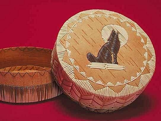 Mel Losh, Ojibwe quill and bead artist