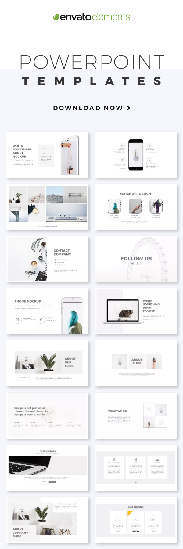 Unlimited Downloads Of 2018s Best Powerpoint Templates Design