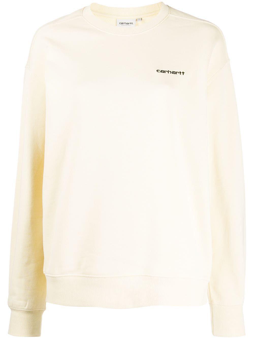 Carhartt I027477 Flour Cotton Carhartt Cloth Sweatshirts Carhartt Size Clothing [ 1334 x 1000 Pixel ]