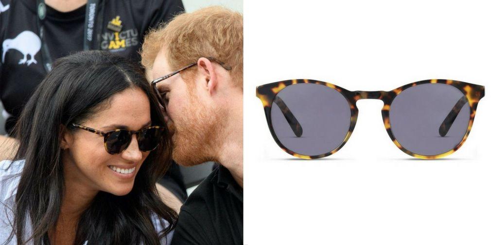 72905595fe Meghan Markle wearing Percy Sunglasses