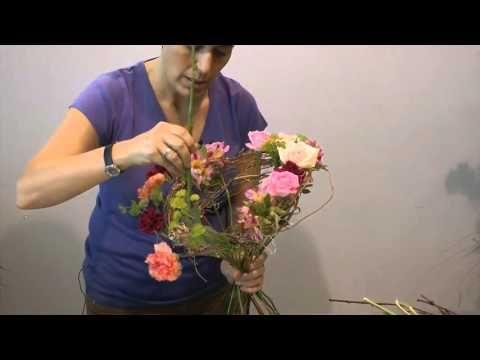 Trabajo Floral Sinfonía De Colores Youtube Aranjamente Florale