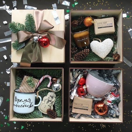 Cozy Gift Baskets #christmasgiftbaskets #christmasgifts #christmasgiftideas #chr... | 1000