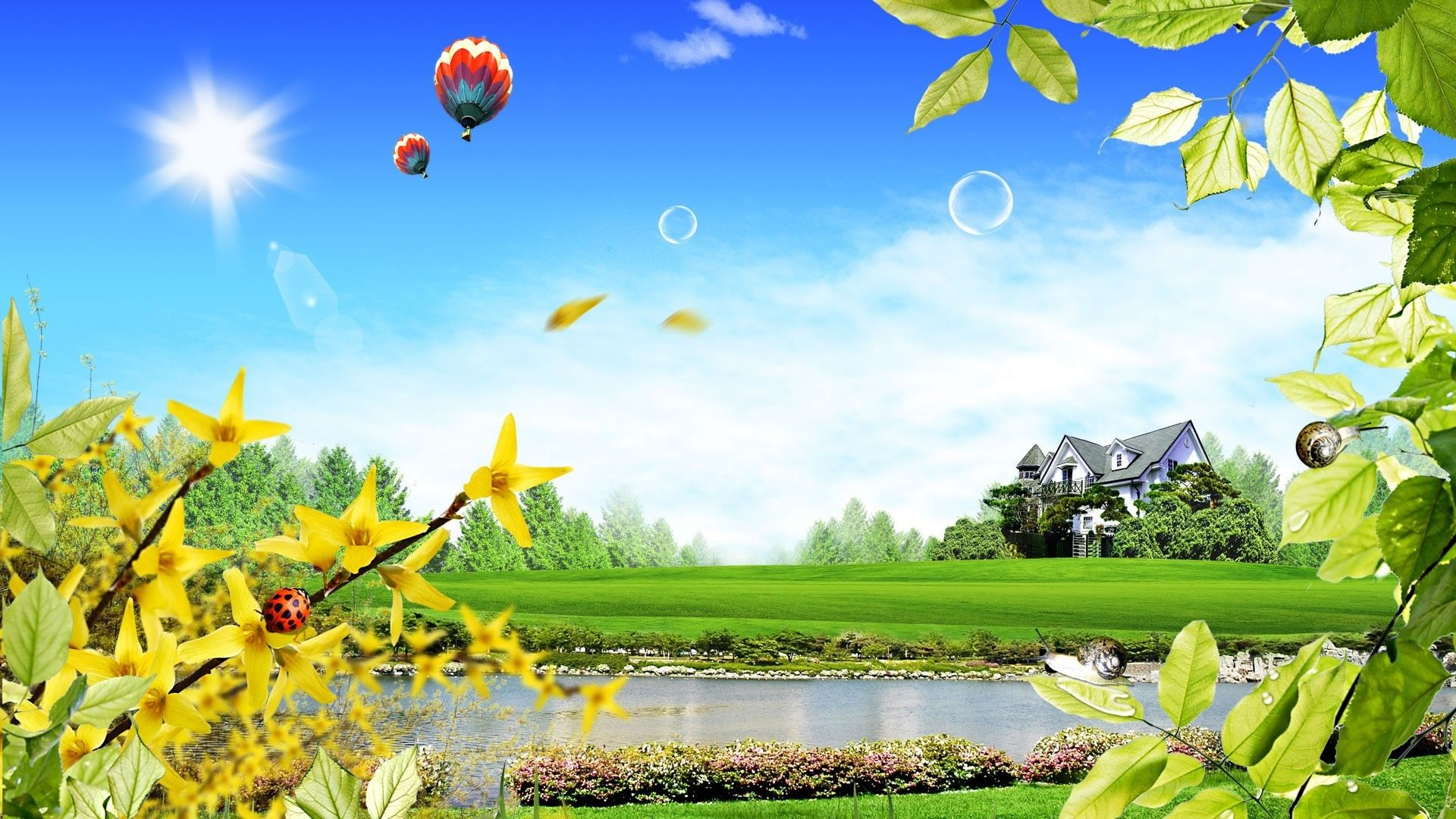 3d Nature Wallpaper 1366x768 Hd Widescreen 11 Hd Wallpapers