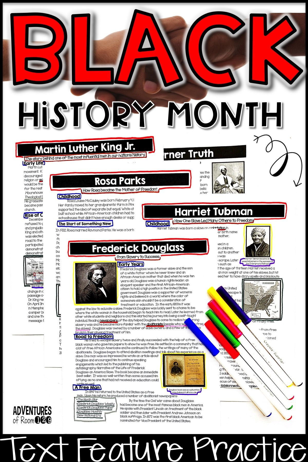 Black History Month Text Features