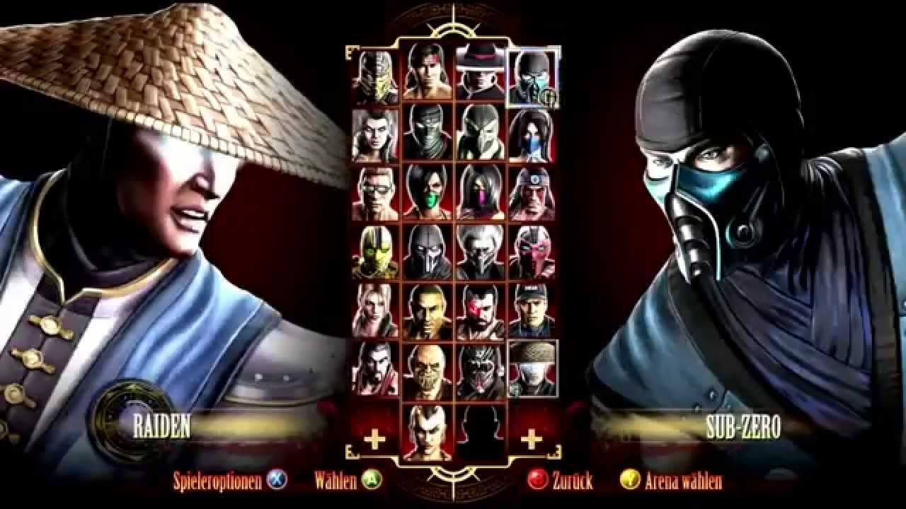 Mortal Kombat 9 All Fatalities Finishing Moves Mortal Kombat