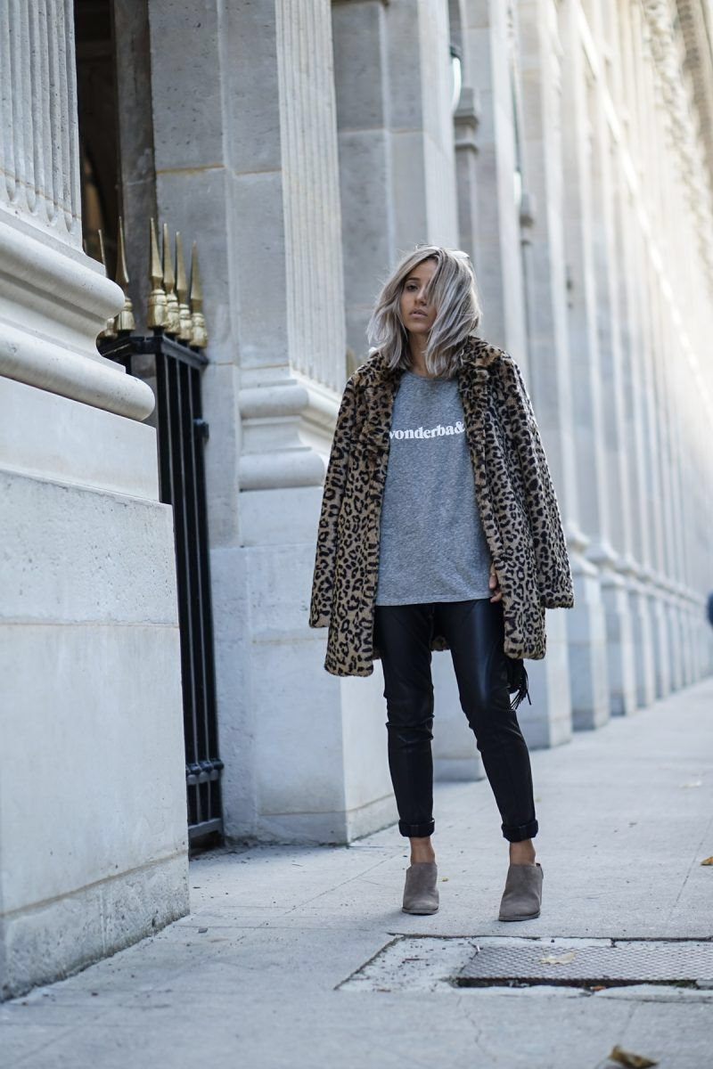 6 Ways To Style A Leopard Coat