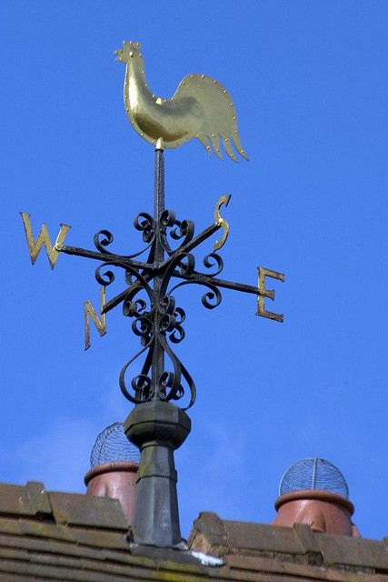 ~ Wightwick Manor Weather Vane ~