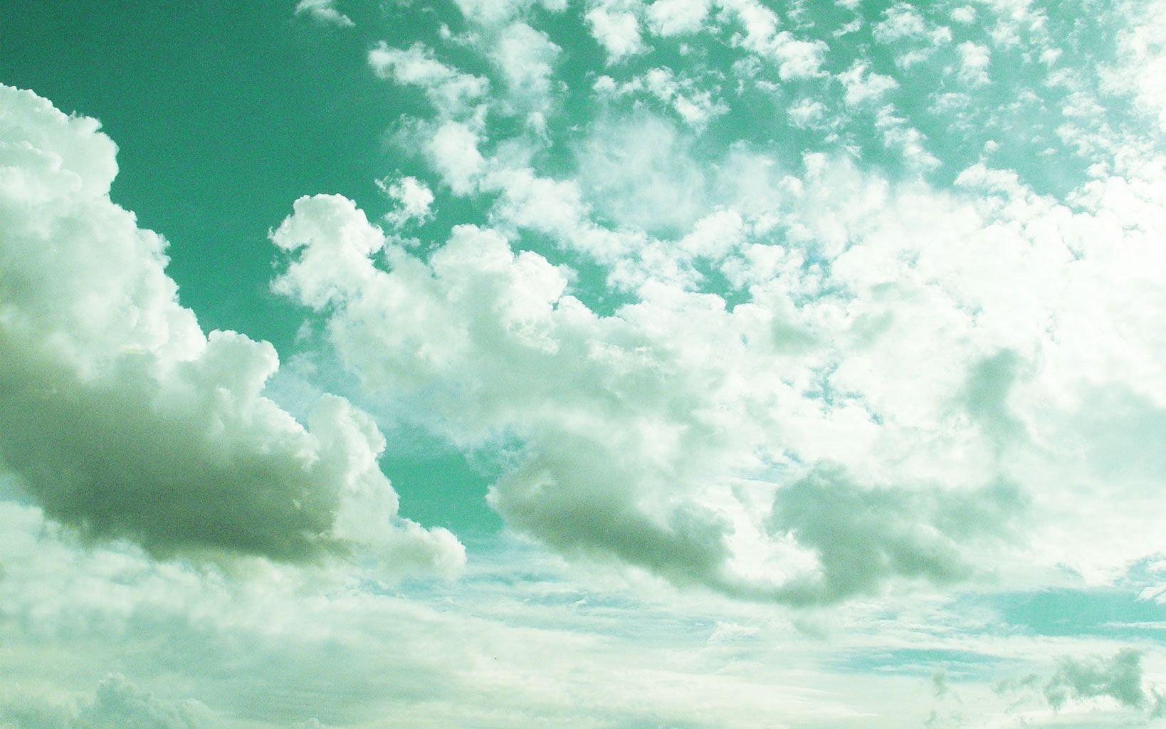 Day Dream Mint Aesthetic Pastel Green Aesthetic Aesthetic Angel Aesthetic mint green clouds wallpaper