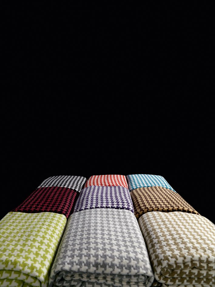 houndstooth throw #blanket