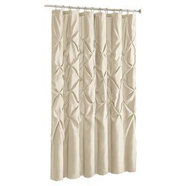 Laurel Shower Curtain In Ivory