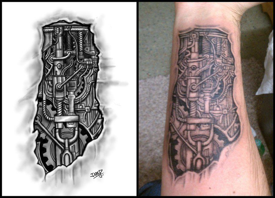 tatouage biomecanique – page 8 – tattoocompris | idées tattoo homme
