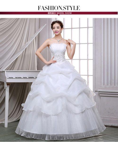 Wedding Gown Bra: Korean Fashion Bra Bride Wedding Dress Sexy Lace Simple