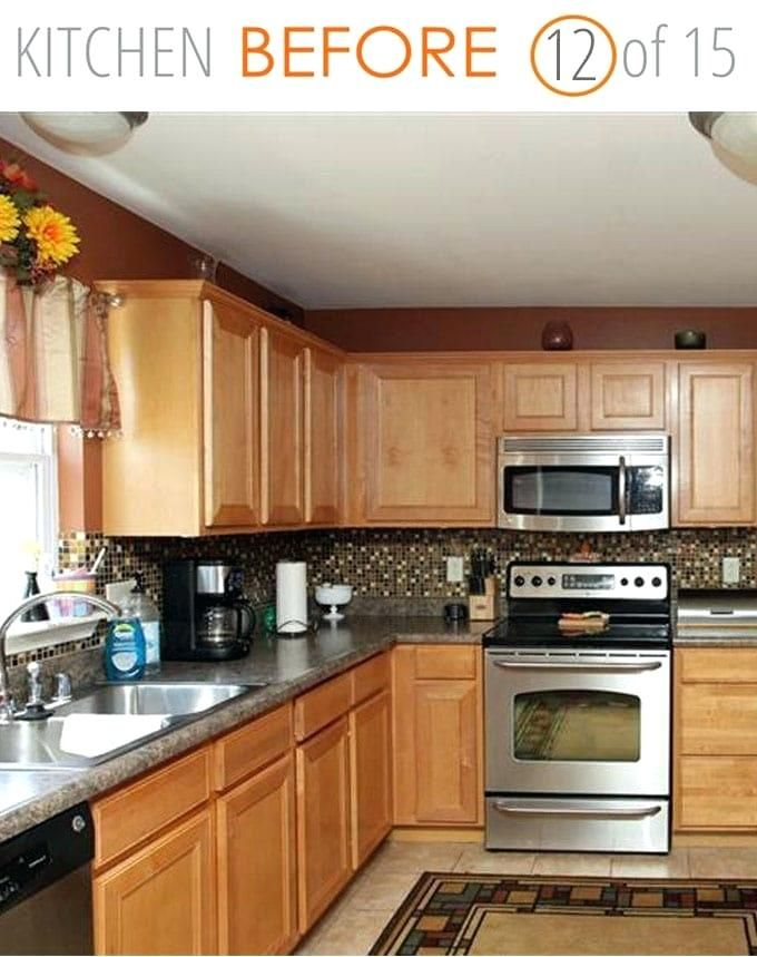Tiny Kitchen Remodel Before And After in 2020 | Kitchen ...