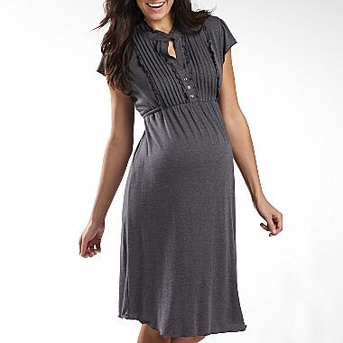 22259e798fed2 Pleated Front Dress - jcpenney | My Style | Maternity dresses ...