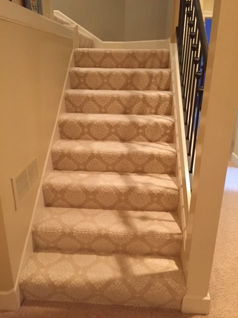 Stair Carpeting Installation By Hopkins Carpet One In Mn