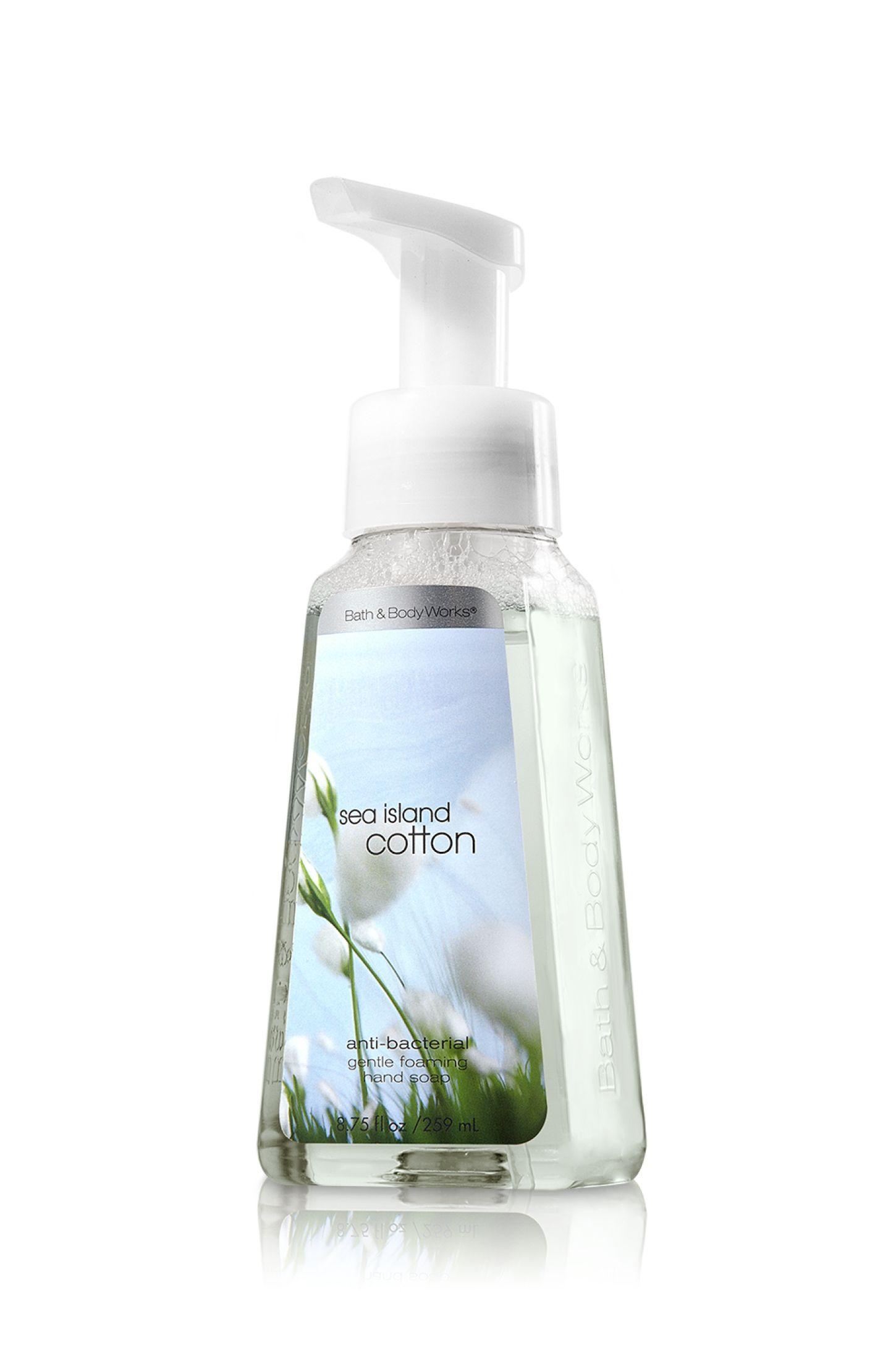 Sea Island Cotton Gentle Foaming Hand Soap By Bath Body Works