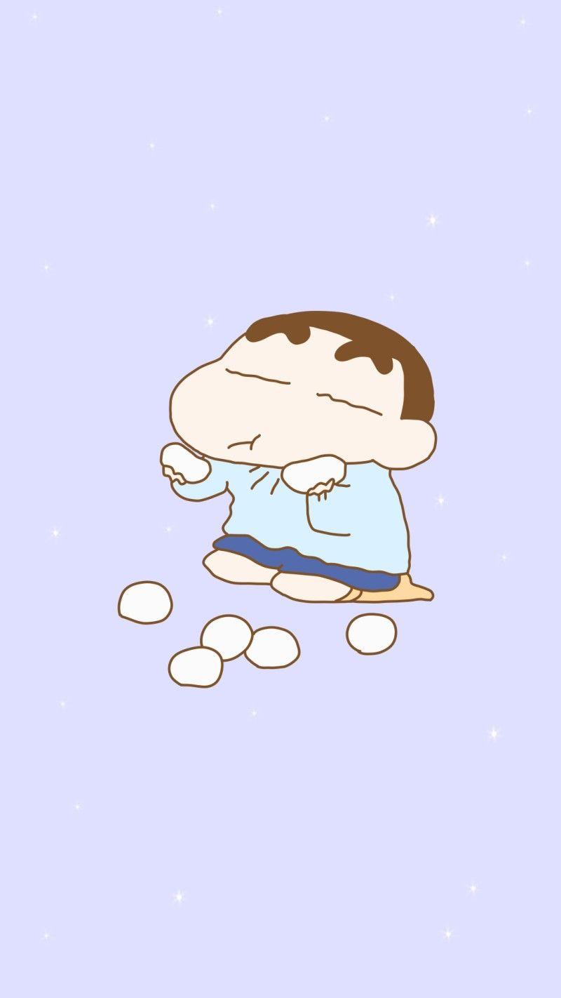 漫画の壁紙, クレヨンしんちゃん, Android, ステッカー, スケッチ