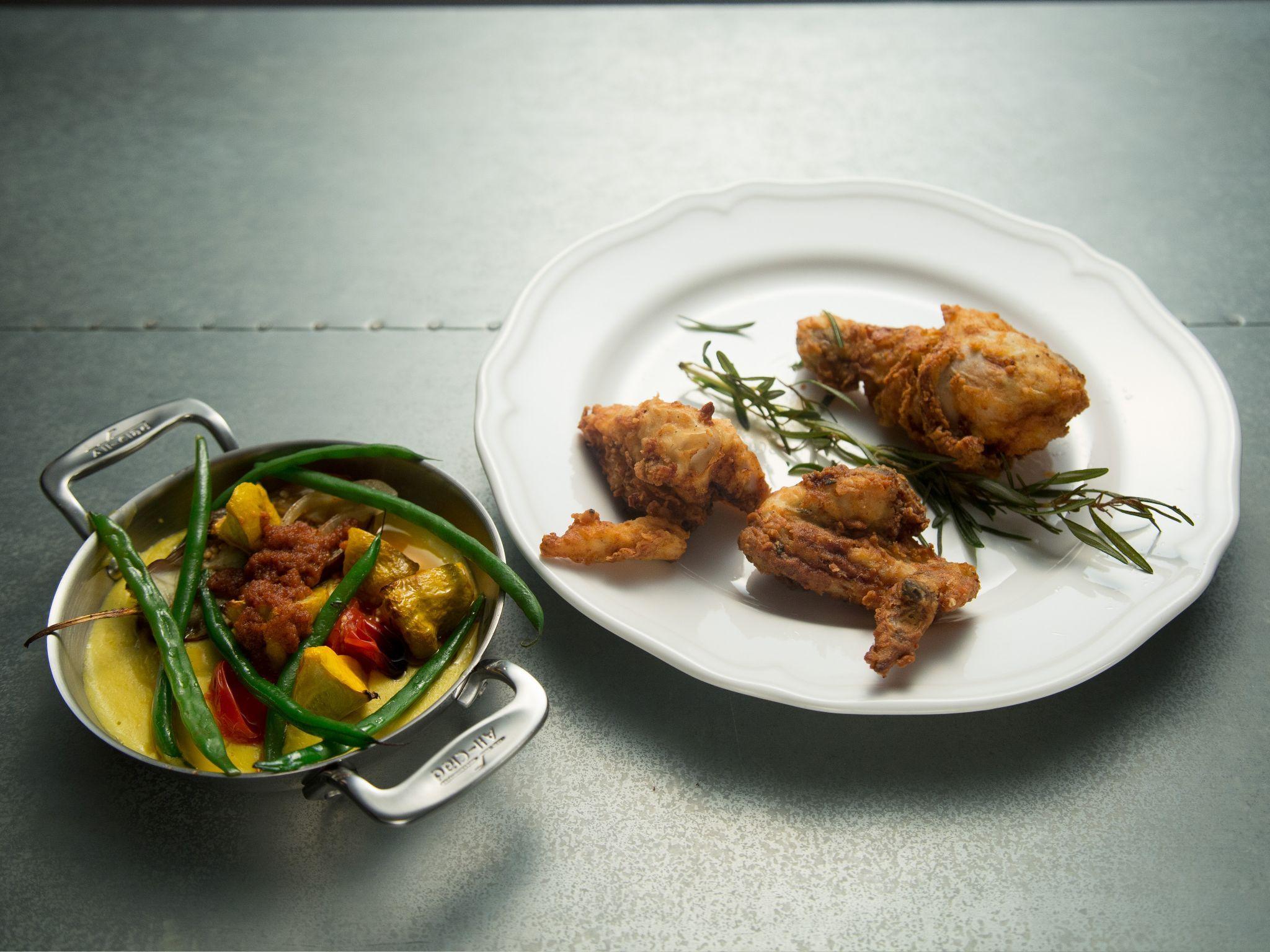 Extra crispy fried chicken recipe tyler florence crispy fried extra crispy fried chicken food network recipeschef forumfinder Image collections