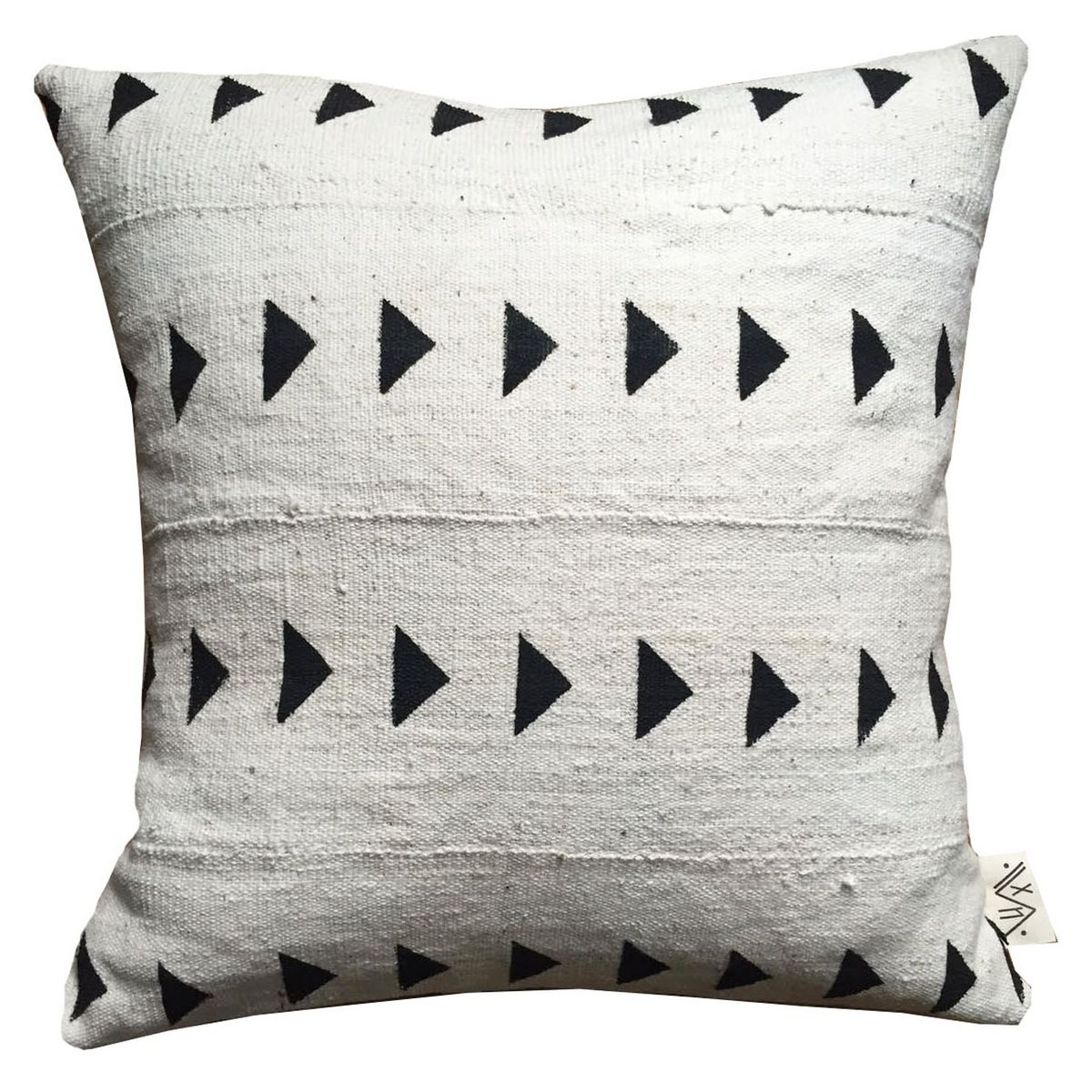 Meroë, Sudan, after which this pillow is named, is home to the greatest number of pyramids in the world. Style in several different directions for...