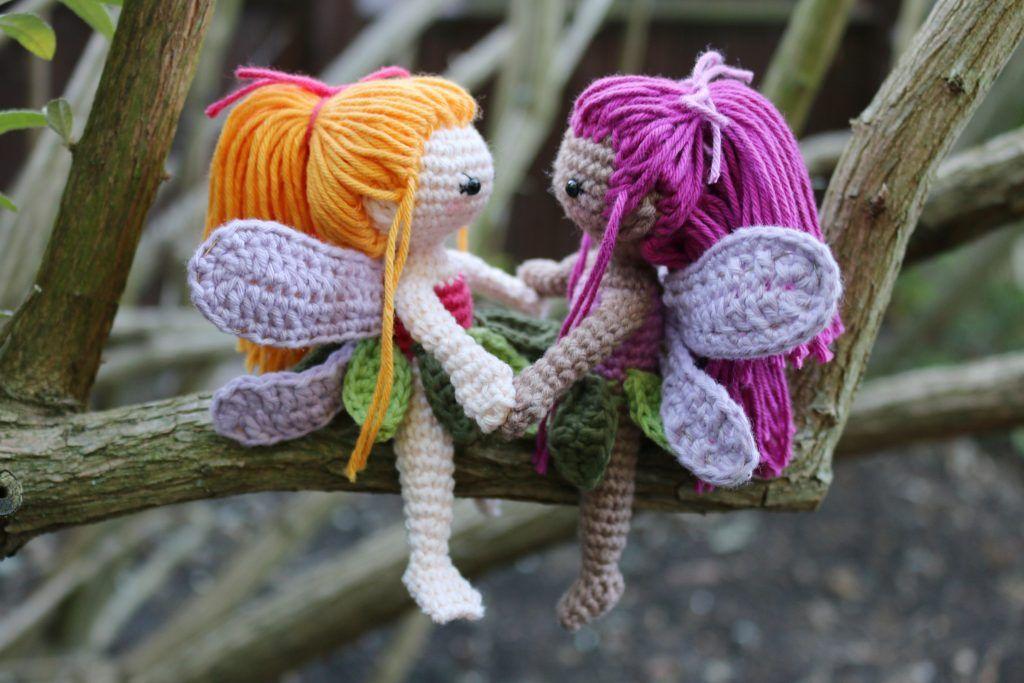 Häkele eine kleine Fee - Kostenlose Anleitung - Stella's Yarn Universe