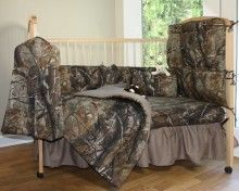 All Purpose Camo Crib Bedding Set (6 Piece) - realtree