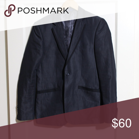 English Laundry Black Blazer Suit Jacket Black Blazer Blazer