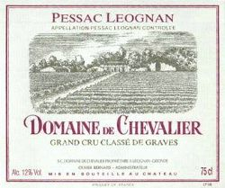 1990 Domaine de Chevalier