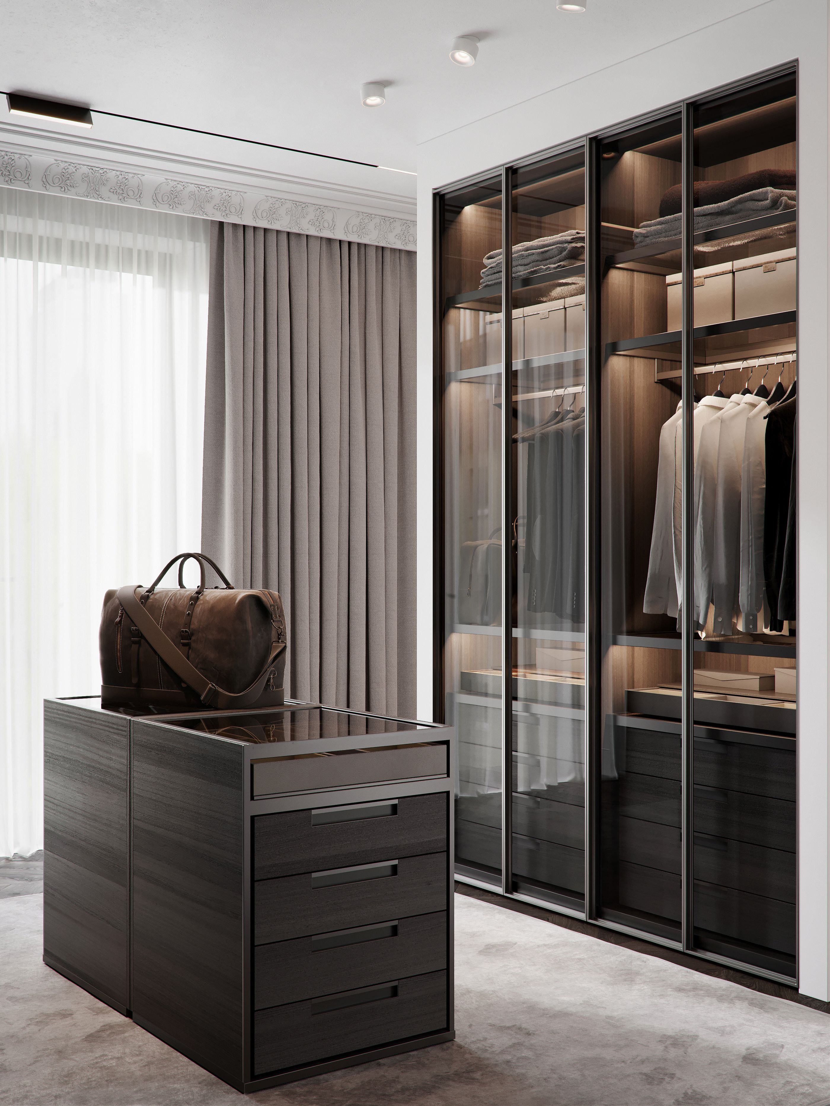 Ideas Of Functional And Practical Walk In Closet For Home: Dressing Room Design, Luxury Closet, Closet Designs