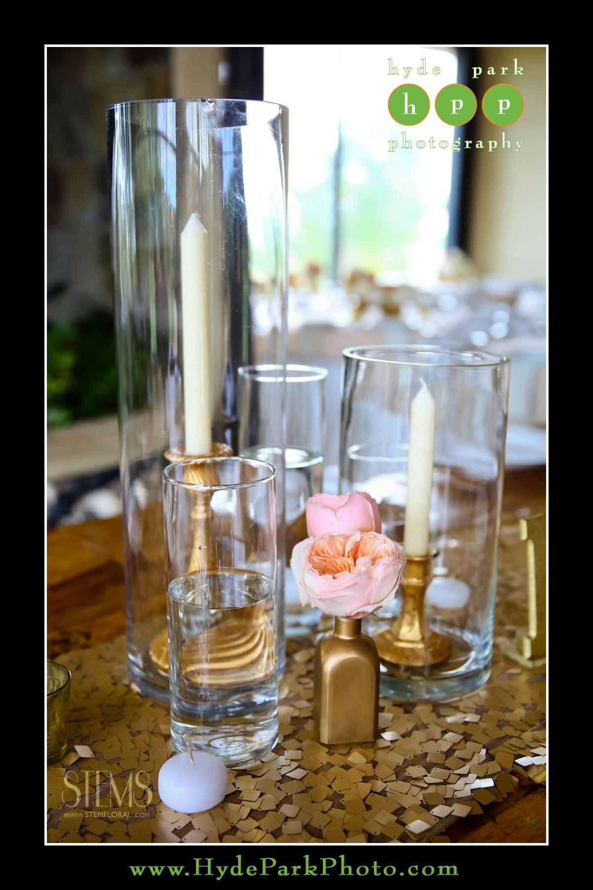 Some of the centerpieces will be cluster of two cylinder vases some of the centerpieces will be cluster of two cylinder vases with taper candles on brass reviewsmspy