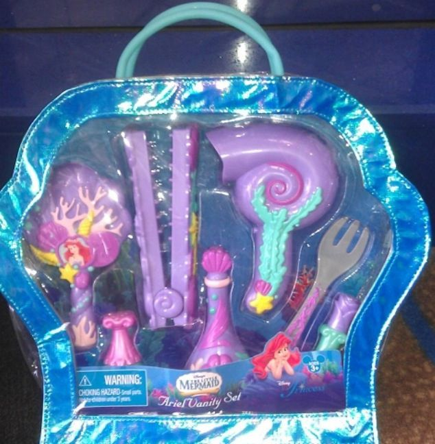Mermaid Party Dressup Disney Ariel Vanity Set Playset Ariel Birthday Party Disney Princess Dolls Ariel Party