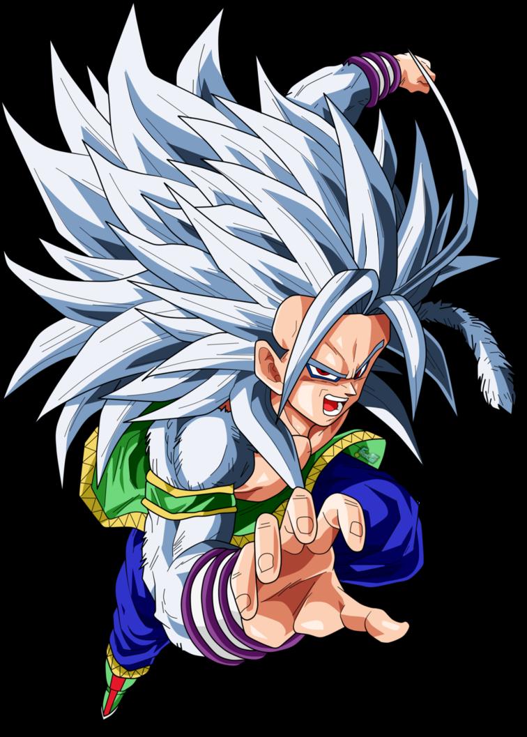 Goku Super Saiyan 5 By Chronofz Dragon Ball Gt Dragon