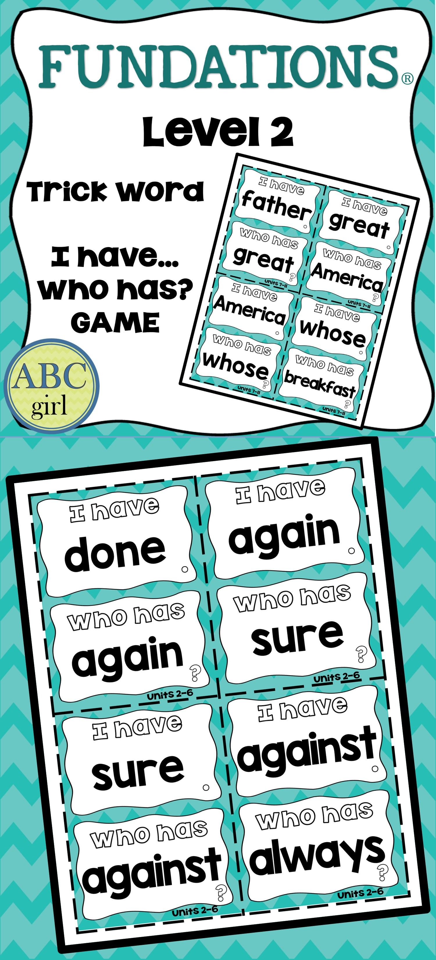 hight resolution of Fundations Level 2 Worksheets   Printable Worksheets and Activities for  Teachers